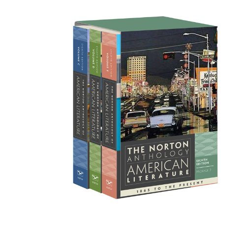 Norton Anthology of American Literature 8E Volume C + D + E