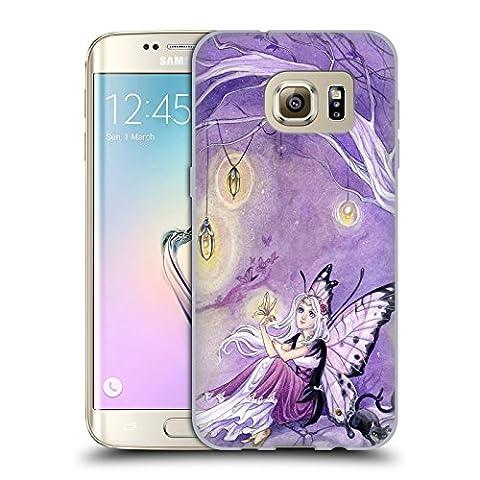 Officiel Meredith Dillman Papillons Fée Étui Coque en Gel molle pour Samsung Galaxy S7 edge