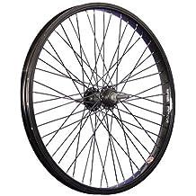 Taylor Wheels 20 pulgadas BMX rueda trasera llanta pared simple negro 48