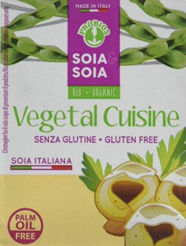 Probios Vegetal Cuisine - Crema Vegetale (Panna di Soia), 200 gr, Pacco da 8 pezzi