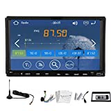 Autoradio MP4 Car DVD Player Ricevitore Video Audio Universale 2 DIN Accessori Automotive Multimedia Stereo sistema autoradio FM AM CD touchscreen telecomando EQ Subwoofer vincere RDS 8 TV digitale - EinCar - amazon.it