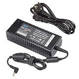 KFD 19V 6,32A 120W Adattatore Caricatore ,Asus Caricabatterie per ASUS N53 N53S N53SV N55 N55S N55SF N75 N75S N75SF Notebook Adaptor/ Portatile adattatore CA/Caricabatterie da viaggio /adattatore di alimentazione - 19V 6,32A-5.5*2.5mm - Cavo di alimentazione è incluso