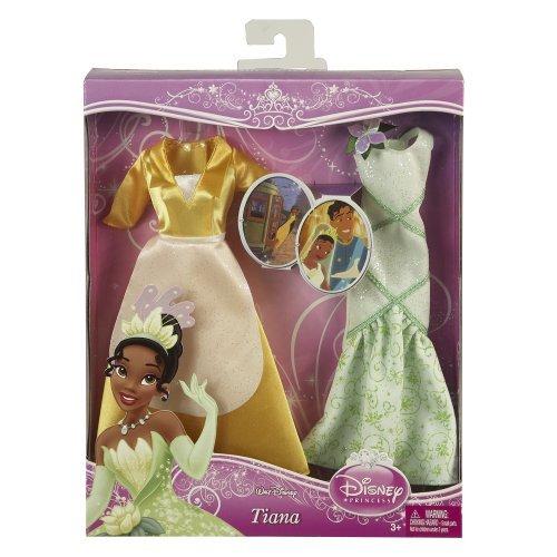 Disney Princess V8791 - Moden, Kleider für Prinzessin Tiana, 2 Kleider