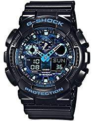 Casio Herren-Armbanduhr G-Shock Analog Digital Quarz Resin GA-100CB-1AER