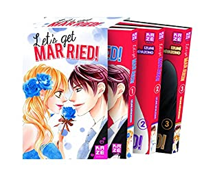 Let's get married ! Pack Tomes 1 à 3 One-shot