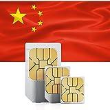 China (incl. Hongkong & Macao) Prepaid Daten SIM + 1500 MB für 30 Tage