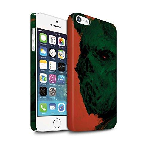 Offiziell Chris Cold Hülle / Matte Snap-On Case für Apple iPhone 5/5S / Herzensucher Muster / Wilden Kreaturen Kollektion Ungeheuer/Troll