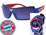 TV-24 Bayern Armbanduhr + Bayern Sonnenbrille + FC Bayern München Bierdeckel