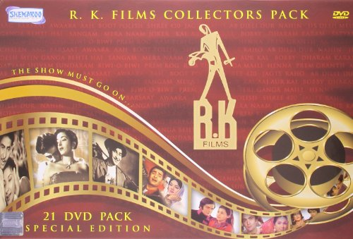 R. K. Films Collectors Pack. The Show Must Go On. 21 Bollywood Klassiker mit/von Raj Kapoor. Sprache: Hindi; Untertitel: Englisch . [21-DVD-Satz][IMPORT]