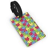 Autismus Awareness,bunt Bedruckte Ausweishalter Visitenkartenhalter für Gepäck, Reise-ID,...