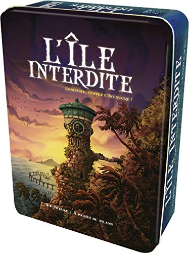 Cocktail Games - L'Ile Interdite Gioco di Carte [Importato dalla Francia]