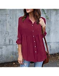 Amazon.es: tallas grandes mujer - Blusas y camisas / Camisetas, tops y blusas: Ropa