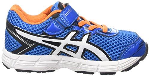 Junior Shoes GT-1000 4 TS PINK GLOW / PISTACHIO / INDIGO BLUE 15/16 Asics Bleu / Orange / Blanc / Noir