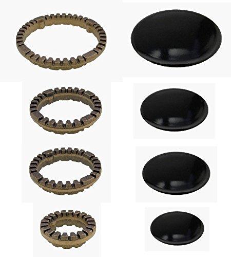 Serie de hornallas para cocina Ariston / Indesit anillas + platillos de...