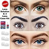 Sparkle Eye Combo Pack of 3 (Turquoise, Brown & Blue) Monthly Color Contact