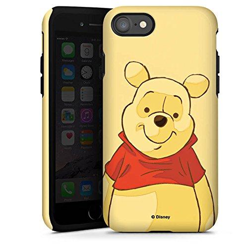 Apple iPhone X Silikon Hülle Case Schutzhülle Disney Winnie Puuh Merchandise Fanartikel Tough Case glänzend