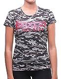 Boxeur Des Rues–bxe-2738d, T-Shirt Damen Large Grigio (Antracite Camou)