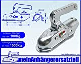 ALBE Berndes Zugkugelkupplung Kugelkupplung Zugrohr 50mm 51mm EM 150 R B 05355 für Pkw Anhänger