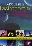 larousse de l astronomie facile