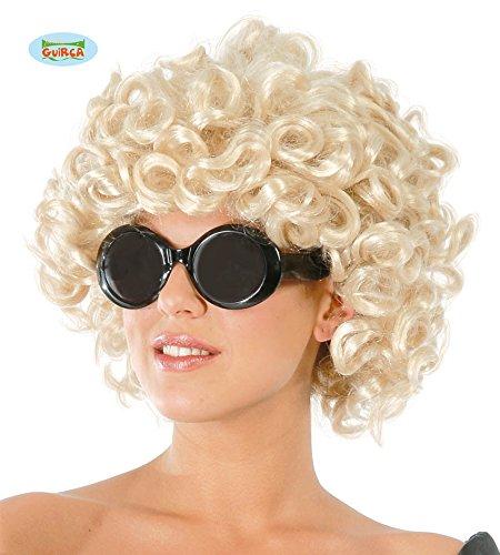 Riccia bionda parrucca glamour