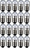 20er Set WireThinX Kugelförmige Lampe 2,4 W, 12 V - Sockel E10-11,5 x 24 mm - L3