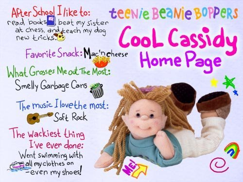 Ty Teenie Beanie Bopper - Cool Cassidy [Toy]