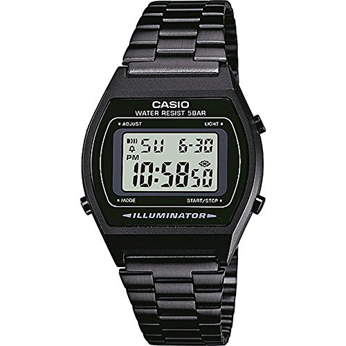World Watch Time Casio (Casio Collection Unisex Retro Armbanduhr B640WB-1AEF)