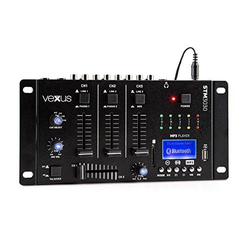 DJ-Mischpult mit 4Kanälen für Anfänger.Mit USB. (Einem In Mixer Dj-cd-player Und)