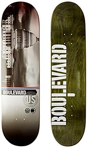 BLVD Skateboards Stadtbild Team Deck, 8.125-inch