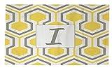 Telecharger Livres Manuel Woodworkers et Weavers Dobby Tapis de bain 4 par 6 Feet ornee d un Monogramme Lettre I Jaune Nid d abeille (PDF,EPUB,MOBI) gratuits en Francaise