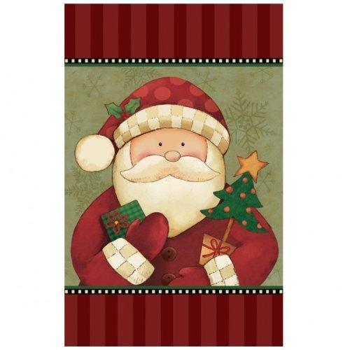Amscan International Tischdecke Kunststoff Cozy Santa