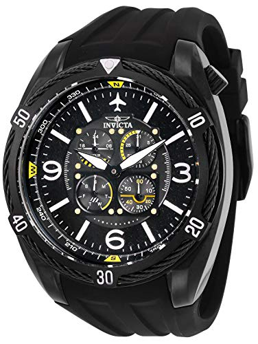 Invicta Herren Analog Quarz Uhr mit Silikon Armband 28078 - Bands Watch Silikon Invicta