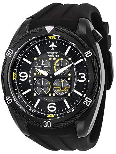 Invicta Herren Analog Quarz Uhr mit Silikon Armband 28078 - Bands Invicta Watch Silikon