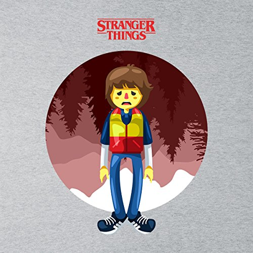 Stranger Things Will Big Women's Vest Heather Grey
