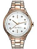 Esprit Damen-Armbanduhr ES-RACHEL ROSE GOLD Analog Quarz Edelstahl beschichtet ES108562003