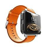 IrahdBowen Smart Watch Große Farbbildschirm Smart Fitness Watch Browser Fitness Tracker Uhr Mit Pulsmesser Schrittzähler SMS Call Notification Remote Kamera Musik Sport Companion 3G Android 5.1