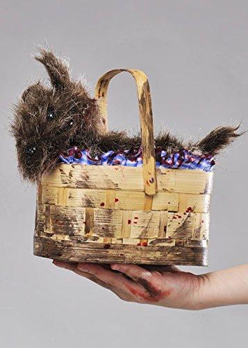 Halloween Zombie Dorothy Toto Basket ()