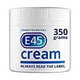 E45 Dermatological Moisturising Cream Tub, 350 g