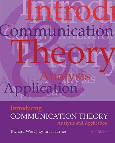 Introducing Communication Theory: Analysis and Application por West