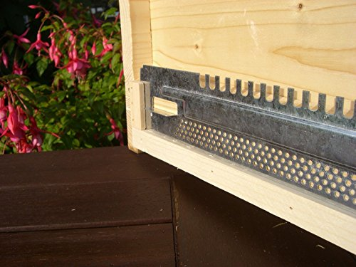 simonthebeekeeper 6 x Beekeeping National Hive Mouse Guard Travel Gates 2
