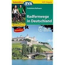 Radreiseführer BVA Radfernwege in Deutschland mit großem Kartenposter