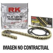RK - KC101245/54 : Kit transmision plato piñon cadena RK 525SO