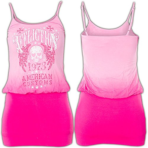 Affliction Kleid Campbell Dress Pink Pink