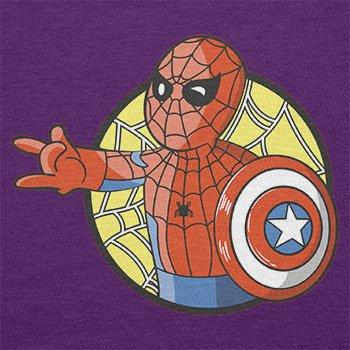 TEXLAB - Spider Boy - Herren T-Shirt Violett