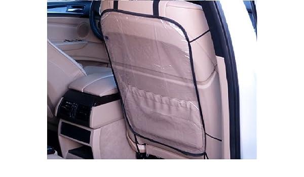 2 x Rückenlehnenschutz Sitzschoner Hecksitzschoner Lehnenschutz Transparent