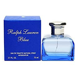 Ralph Lauren Blue Eau de Toilette Spray, 2.5 Fl Oz