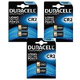 Duracell Ultra CR23V Lithium Fotobatterie –DLCR2–EL1CR2–CR15H270, 6Stück