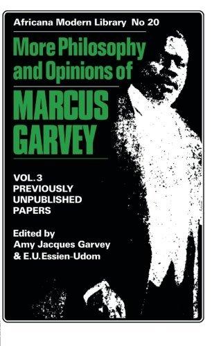 More Philosophy and Opinions of Marcus Garvey: 3 (Africana Modern Library)