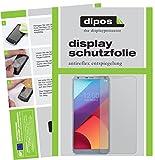 dipos I 2X Schutzfolie matt passend für LG G6 Folie Bildschirmschutzfolie