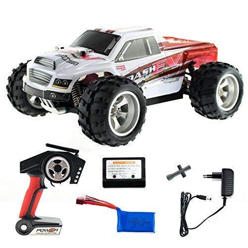 efaso WL Toys A979-B - schneller RC Monstertruck 70 km/h schnell, wendig, voll digital proportional - 2.4 GHz RC Auto mit Allradantrieb - Maßstab 1:18, hoher Fun Faktor (Rc Trucks Für Verkauf)